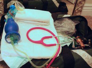 setup up oxygen at birth